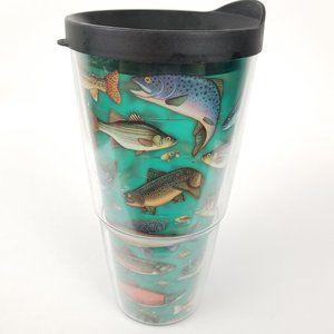 Tervis Bass Fish Theme Angler 24oz Tumbler